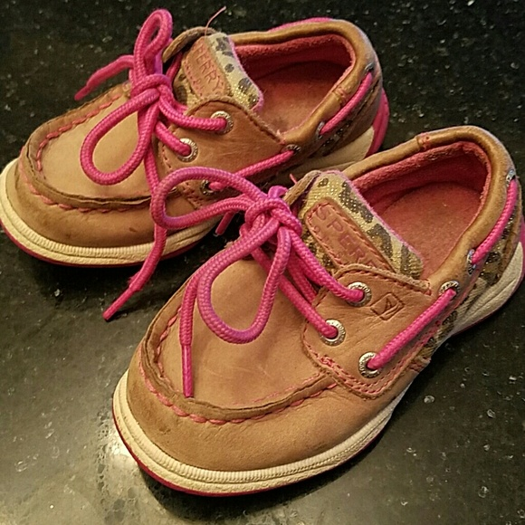 Sperry Other - Pink and cheetah Tan  Sperry Top-sider